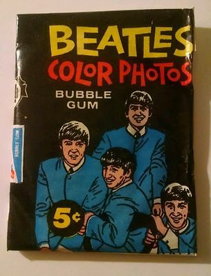 The Beatles / 1964 Diary Cards / Unopened Wax Pack / Falling Price Special Sale!