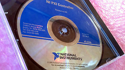 NATIONAL INSTRUMENTS NI PXI Controller Resource Cd 8501E CD-ROM
