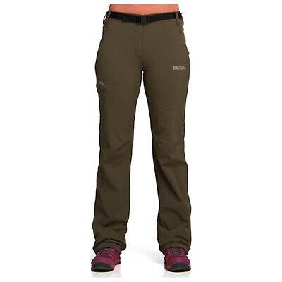 Regatta Xert Womens Lightweight Water-Repellent Walking Hiking Trousers
