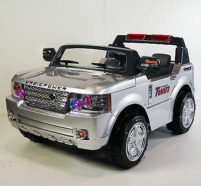 Land Rover Style Kids Ride On Car RC 24V Battery Operated 2 Seats rideONEcar.