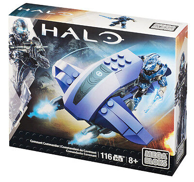 Mega Bloks Halo Covenant Commander Brand New In Box Cnh23