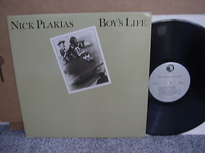 NICK PLAKIAS – BOY'S LIFE Private Cabin Home '82 LP US FOLK RURAL ROCK M- Insert