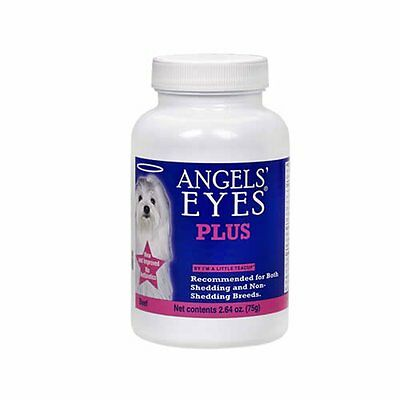 Angels Eyes Plus Beef 2.64 Oz Tear Remover Powder Expired 05-17. Free Ship Usa.