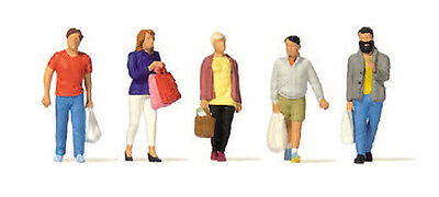 HO Scale People - Shopping
