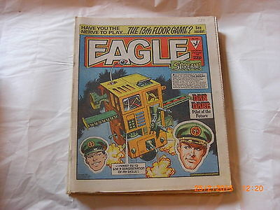 Eagle comic #136  from 27th Oct 1984  Dan dare   (2000AD)     dinos-old-toy-shop