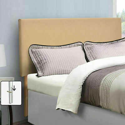 Single Queen King Double Wooden PU Leather Upholstered Bed Headboard Frame