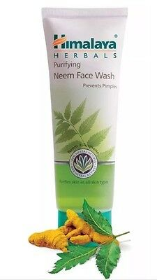 Himalaya Herbals Purifying Neem Face Wash 100Ml go away Pimples - Very Effective