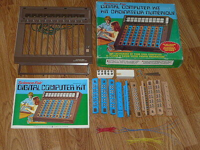Vintage 1970's Digital Computer Kit Science Fair Radio Shack No. 28-218