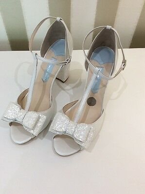 Charlotte Mills Wedding Shoes - Cindy Ivory Size 5
