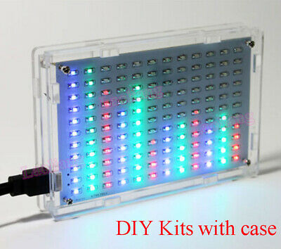 LED Music Spectrum Display Analyzer MP3 PC Amplifier Audio Level Indicator Kits