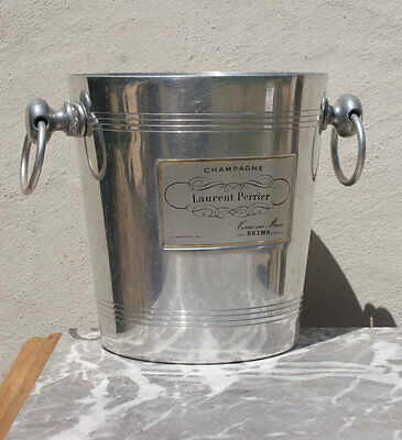 LAURENT PERRIER Champagne ICE BUCKET Wine Cooler Vintage FRENCH