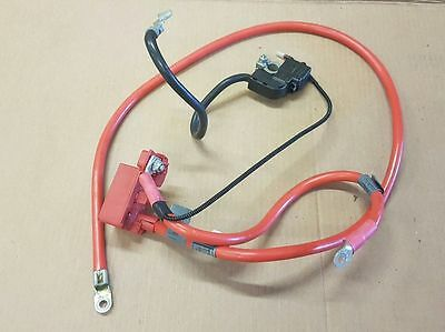 BMW 5 Series E60 E61 2007-2010 Positive Airbag Blow Off Battery Cable and ibs