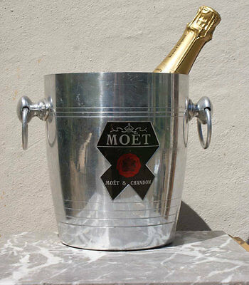 MOET & AND CHANDON Champagne ICE BUCKET Wine Cooler Vintage FRENCH