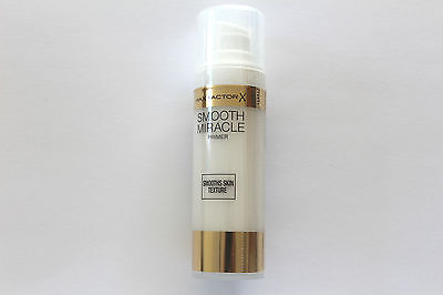 Max Factor Smooth Miracle Primer - Smooths Skin Texture - 30ml