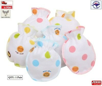 Baby Boy Girl Anti Scratch Infant Warm Gloves Colorful Mittens Unisex [A8B~A1]