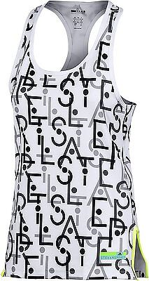 Adidas Stellasport Tanktop Stella McCartney Tank Shirt Top Damen AOP Graphic NEU