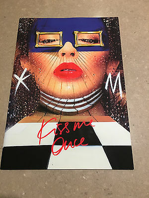 Kylie Minogue Kiss Me Once Tour Program Book - Mint Condition