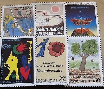 stamps thematics united nations postcards vienna
