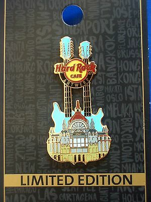 HRC Hard Rock Cafe Antwerp Antwerpen Central Train Station Double Guitar LE300