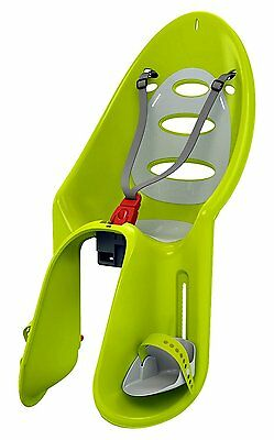 Ok Baby Safety Eggy Rear Mounted Frame Bicycle Child Baby Seat Carrier Green