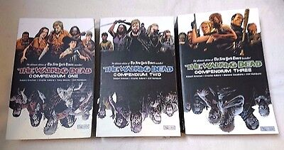 The Walking Dead Compendium 1 2 3 Comic Book Graphic Novel