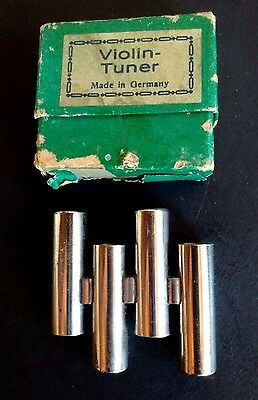Antique VIOLIN TUNER Made in Germany w/ Box A E G D PITCH PIPE Violin MANDOLIN