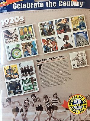 USA - USPS special series 'Celebrate the Century' 1920s - 15 stamps