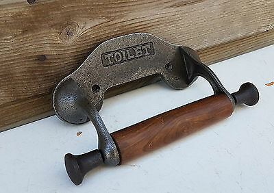 Simple vintage design wall mounted toilet loo roll holder