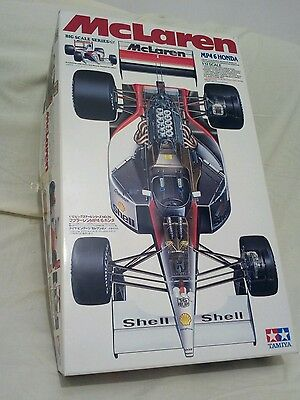 Tamiya mclaren mp4/6 1/12 with extra