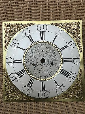 Fabulous Weverham Brass Dial for longcase clock