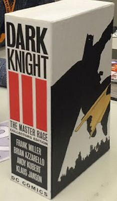 BATMAN Dark Knight III Master Race Collectors Edition Complete Set w/Slipcase