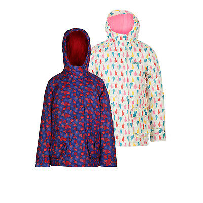 Regatta Bouncy Girls Waterproof Breathable Padded Jacket White Age 9-10yrs