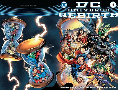 Dc Universe Rebirth Midnight Release Variant First Print