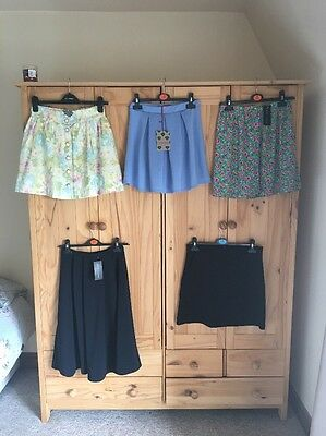 Size 8 - 10 New Look, Boohoo & H&M Skirt Bundle X5 Bnwt