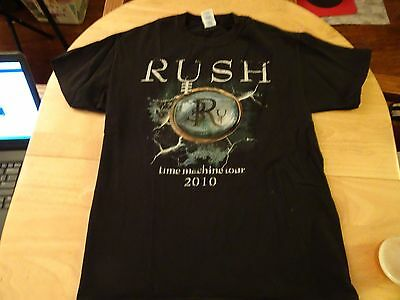 RUSH Time Machine Tour 2010. amazing T-shirt NEW. Size M. Mint Condition