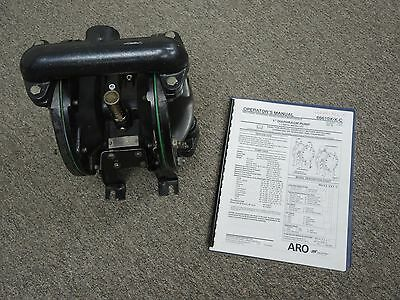 "Aro 1"" Air Double Diaphragm Pump 666100-362-C  ***REBUILT***"