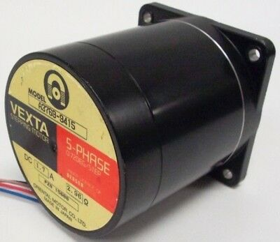 ORIENTAL MOTOR CO. VEXTA Stepping Motor A3769-9415  5-Phase 72 Deg/Step 1.7amps