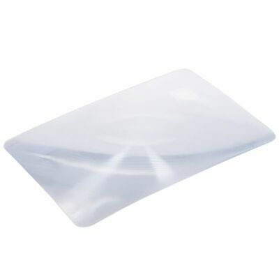 Magnifier Fresnel Lens Page 3x Magnifying Sheet 180x120x0.5mm T6U3