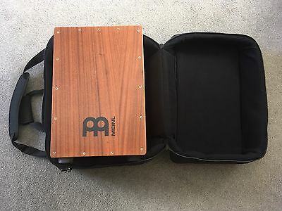 Meinl Percussion Headliner Series Mahogany Cajon - HCAJ1MH-M - With Gig Bag Case