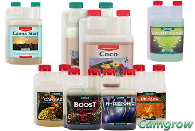 Canna Coco A & B & Additives Complete Nutrient Package
