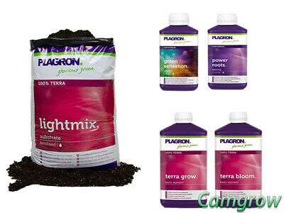 Plagron - Soil Starter Kit With Soil - Nutrients & Boosters Ideal Starter Pack