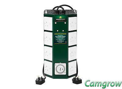 The Green Power - 8 way Professional Contactor Timer - Hydroponics