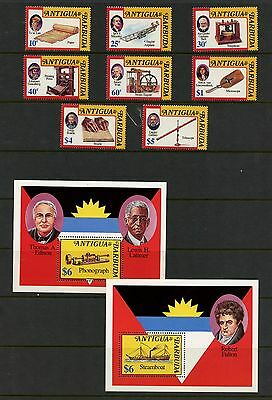 Antigua 1992  #1603-8  inventors inventions science  MNH  K342