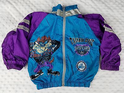 Vintage 90s Tasmanian Devil Looney Tunes Children's Jacket