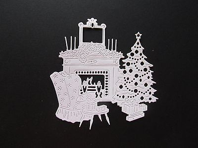 8  New Release Tattered Lace Art Deco (Christmas Home) White Toppers Free P&p