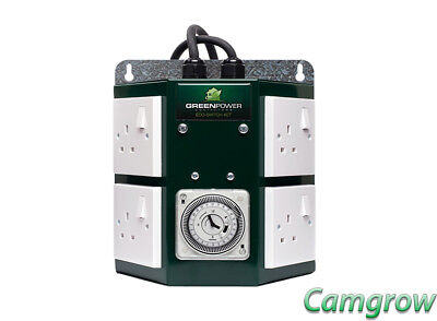 The Green Power 4 way Professional Contactor Timer Hydroponics