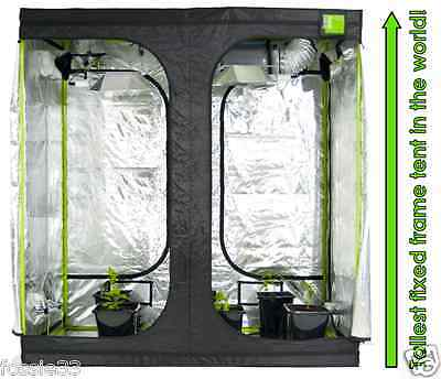 Green-Qube GQ200 (New) - 2.0m x 2.0m x 2.2m - Grow Tent
