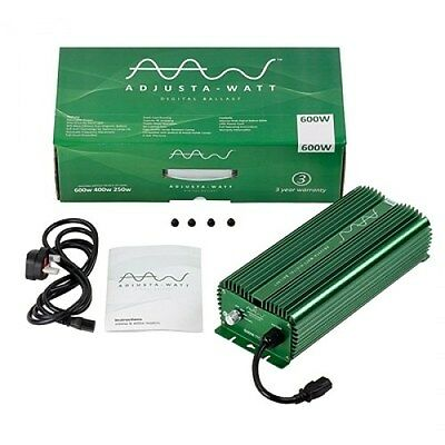 Adjusta-Watt Dimmable Digital Ballast, 250W-400W-600W-660W Settings!