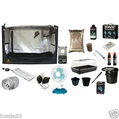 Ionic Coco Propagation Tent Kit Complete Coco Based Grow Kit