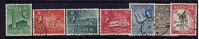 ADEN Stamps,Protectorate Levy QEII Sc# 48/57 Selection Used